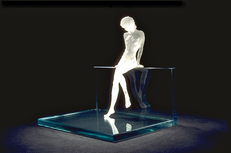 The Glass Wall Sculpture