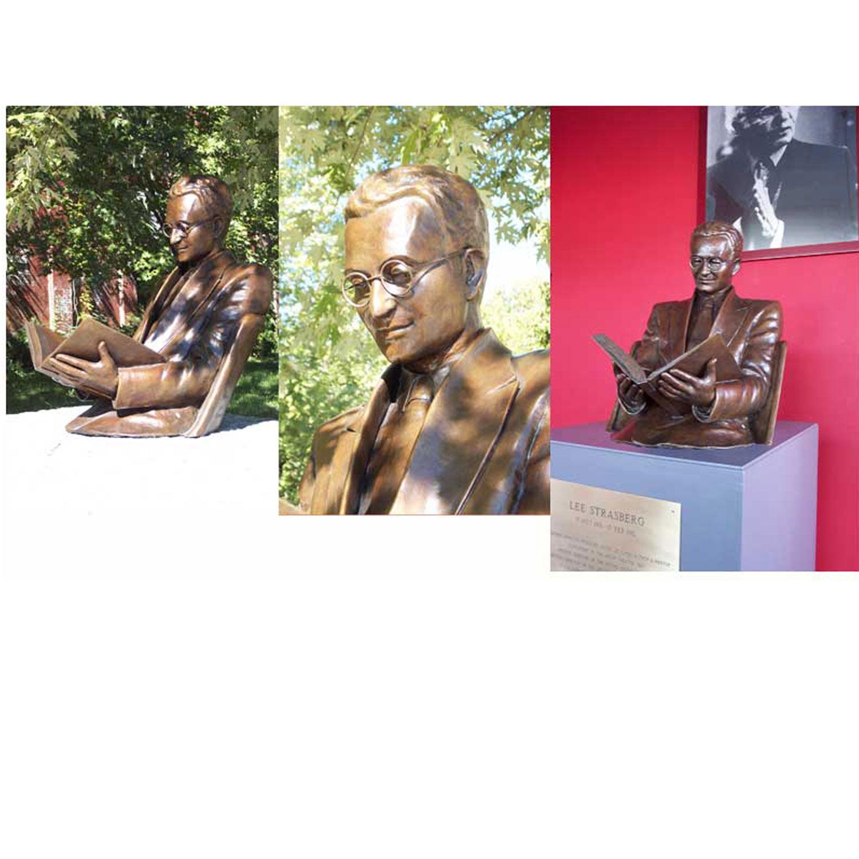 Lee Strasberg A Little Larger than Life Sculpture
