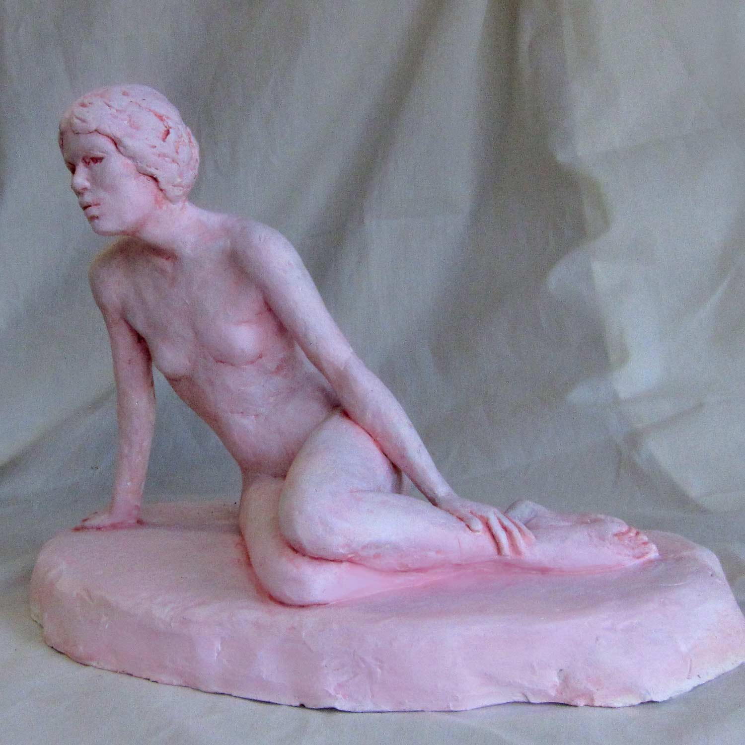 The Woman From France Sculpture