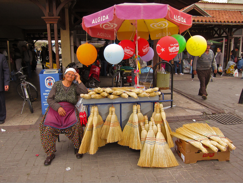 The Turkish Broom Seller