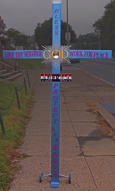 Douglas Randall Anne's Walking Cross