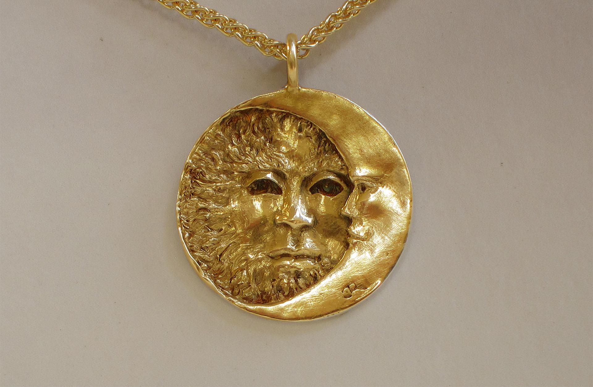 Douglas Randall Sun and Moon Pendent